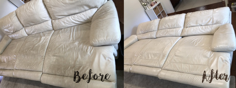 Chemdry great upholstery cleaning results