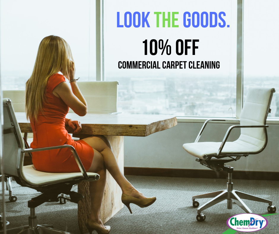 10% off commercial carpet cleaning